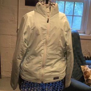 Patagonia jacket M.  White, green pattern ski